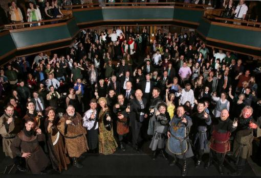 the audience for Edward III, the final play