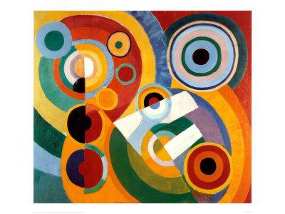 Rhythm, Joie de Vivre, by Robert Delaunay