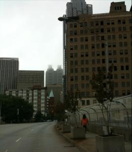 """even a """"skyscraper"""" abandoned"""