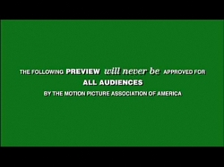 Yes, the MPAA shows up on every preview.