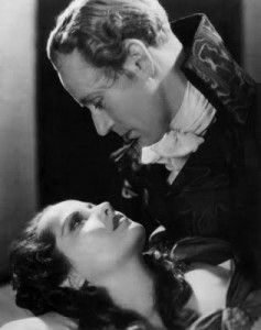 Merle Oberon and Leslie Howard---begad!